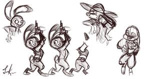 Judy Hopps Sketches