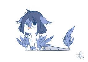 Birddi Sketch by FluttershytheKind