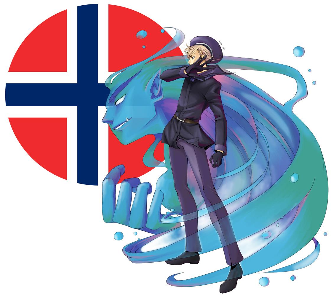 ficha de noru APH___Norway_by_Rowein