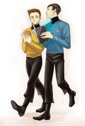 Star Trek by Rowein