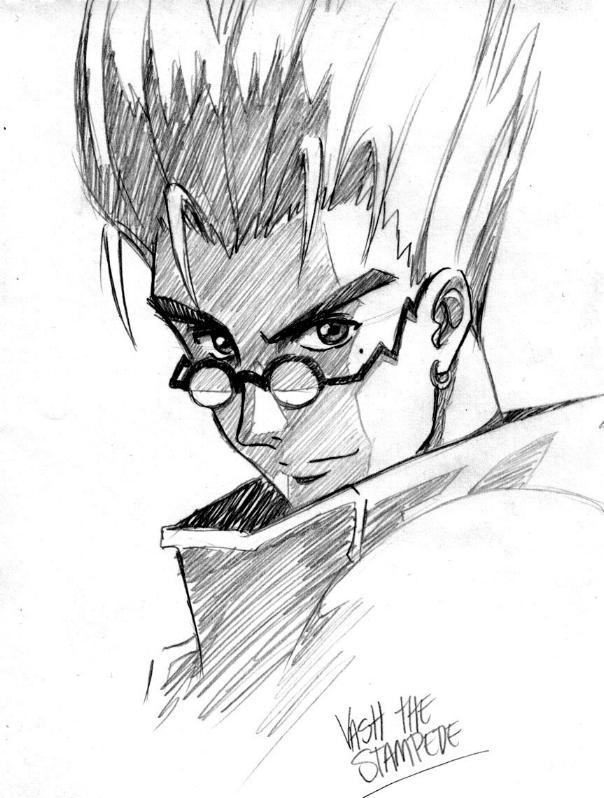 trigun coloring pages | Vash the Stampede by Rowein on DeviantArt