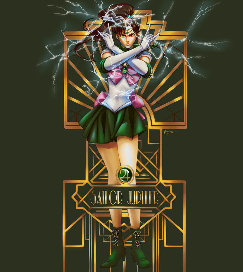 Sailor Jupiter by Rowein