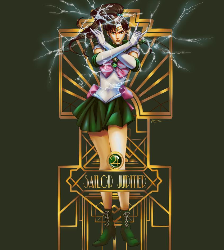 Sailor Jupiter by Rowein