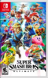 Super Smash Bros. Ultimate OFFICIAL Box Art