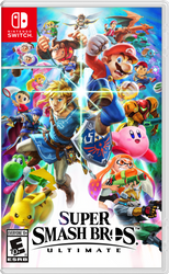 Super Smash Bros. Ultimate OFFICIAL Box Art by Leafpenguins