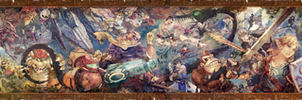 Super Smash Bros. Ultimate Classic Mode Mural