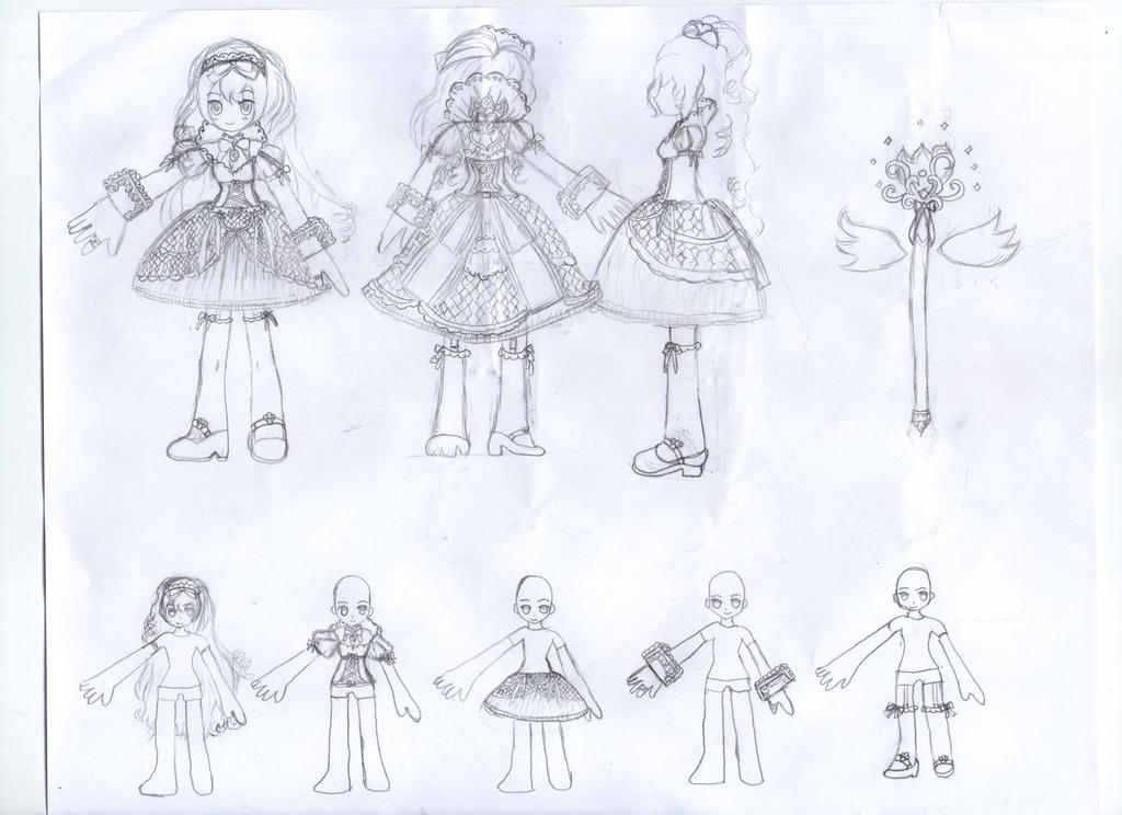Character Design Competition 2015 : Elsword character outfit design contest by uloids on