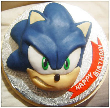 Sonic The Hedgehog Cake By Sslproduction On Deviantart