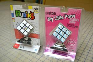 My Little Pony: FIM Custom Rubik's Cube Comparison by RalekArts