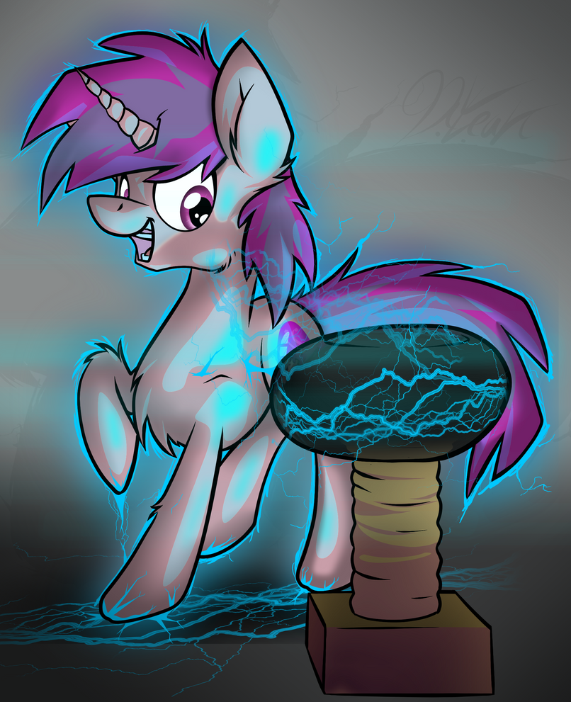 Commission: Tesla Coil by DILeak