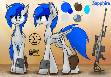 Sapphire Reference Sheet by RalekArts