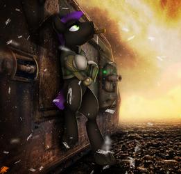 Commission: Steel Hooves