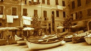 vernazza boats by sparky1393