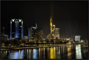 skyline Frankfurt by Riot23