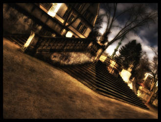 Darmstadt - Stairs by Riot23