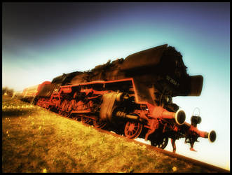 Old Locomotive by Riot23