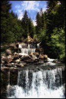 Mountain Stream by Riot23
