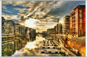Frankfurt West Port by Riot23