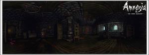 Amnesia: Dark Descent Pano II by Riot23