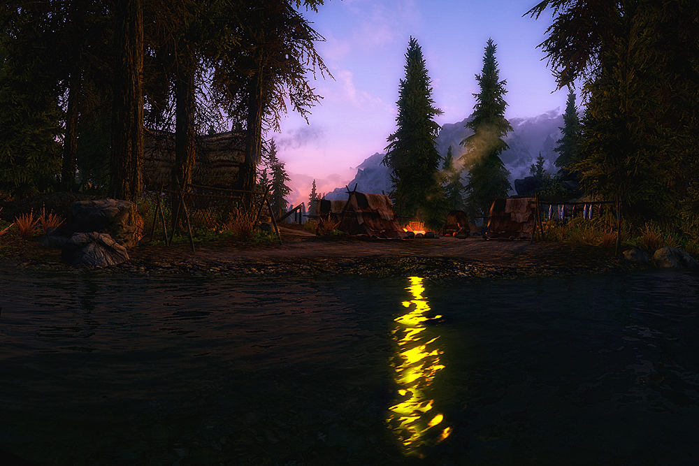 Skyrim - Campfire by Riot23