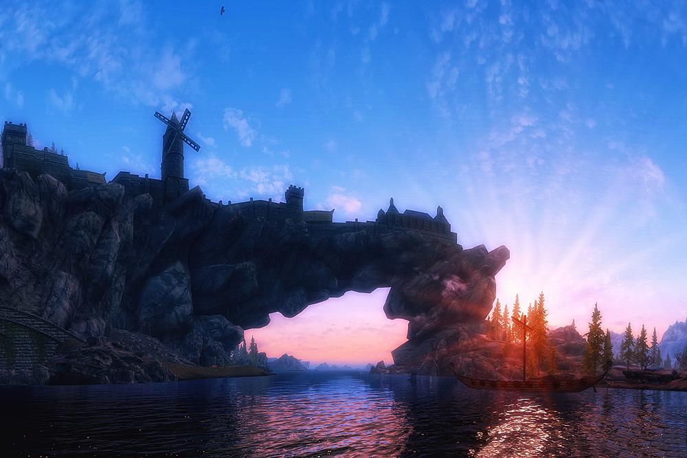 Skyrim - Solitude II by Riot23