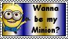 Despicable Me Minion Stamp 1 by Aazari-Resources