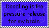 Doodling Release Stamp by Aazari-Resources