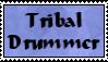Tribal Drummer Stamp by Aazari-Resources