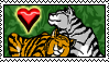 Tiger Love Stamp by Aazari-Resources