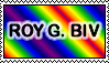 Roy G. Biv Stamp by Aazari-Resources