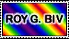 Roy G. Biv Stamp by Aazari-Resources