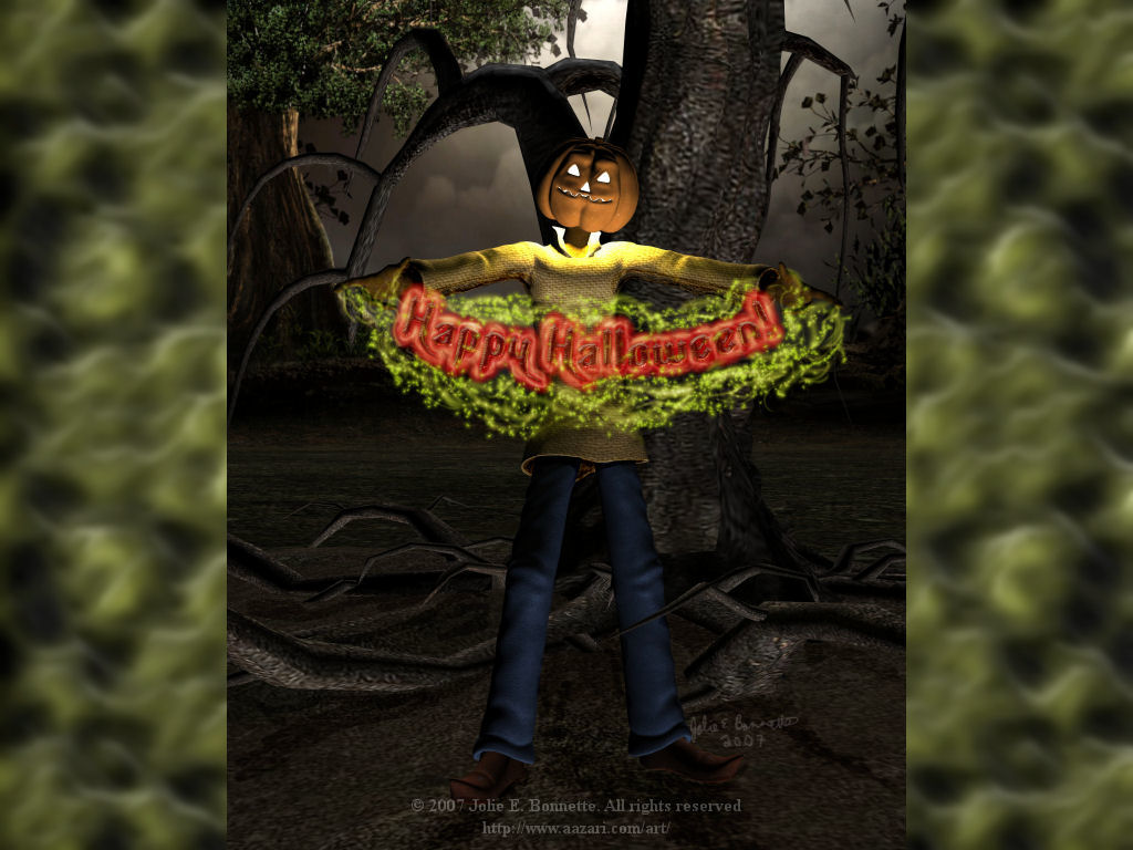 Jack Pumpkin Wallpaper by Aazari-Resources