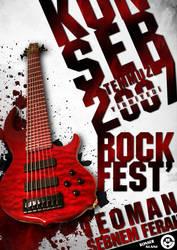 rock fest' afis