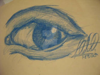Sketch - Evil Eye Blue 2000