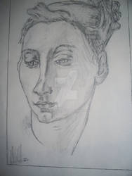 Sketch - Female Portrait 2000