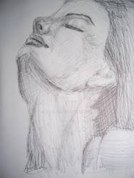Sketch Female Portrait 5 2000