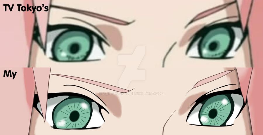 Image Gallery sakura eyes