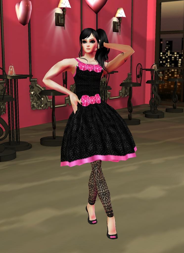 Pretty In Black by zodiac699