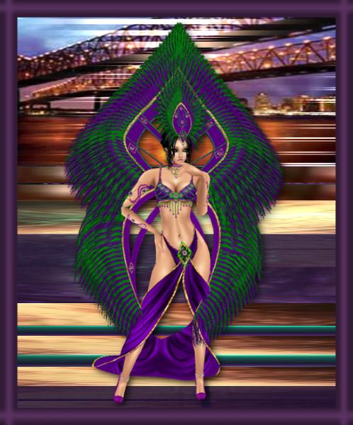 Mardi Gras Azure by zodiac699