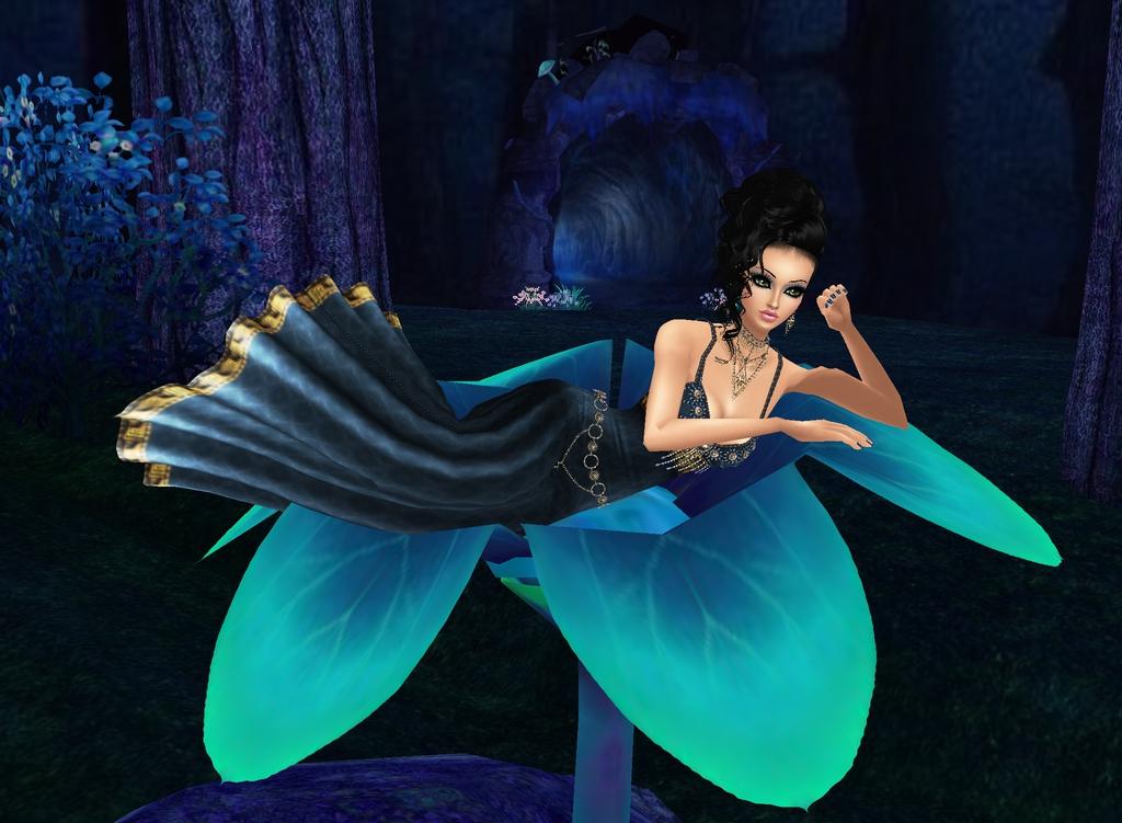 Lady in Blue by zodiac699
