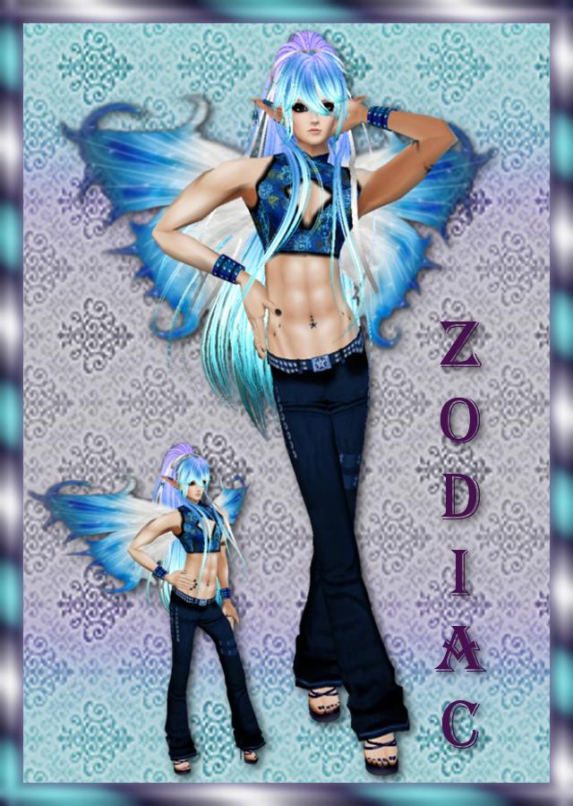 Zodiac Blue Fairy by zodiac699