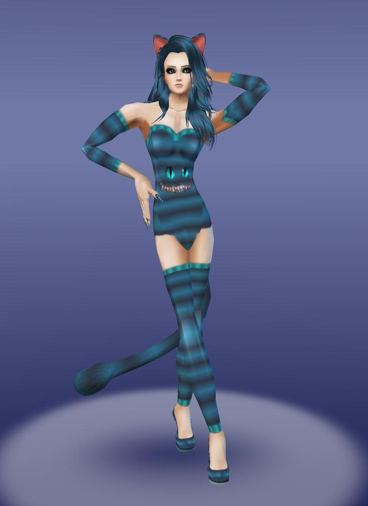 Cheshire Cosplay by zodiac699