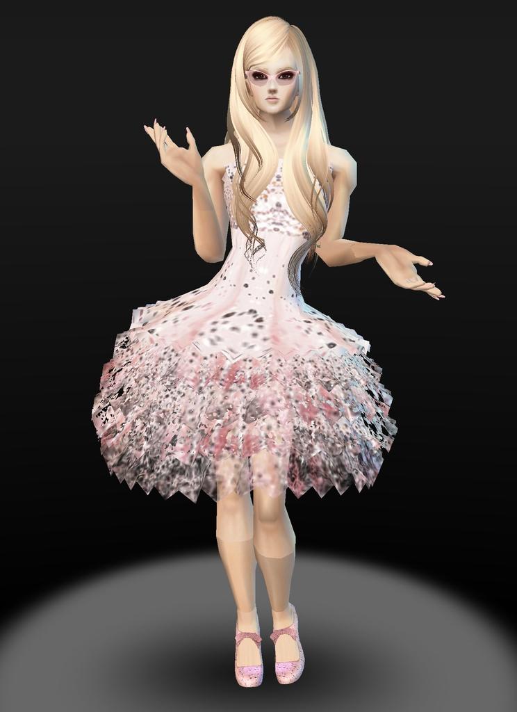 Pale Pink T-girl by zodiac699