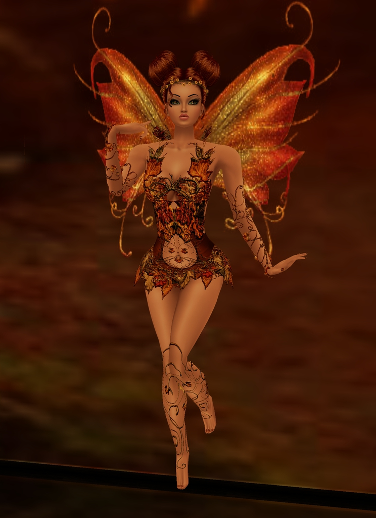 Autumn Fairy by zodiac699