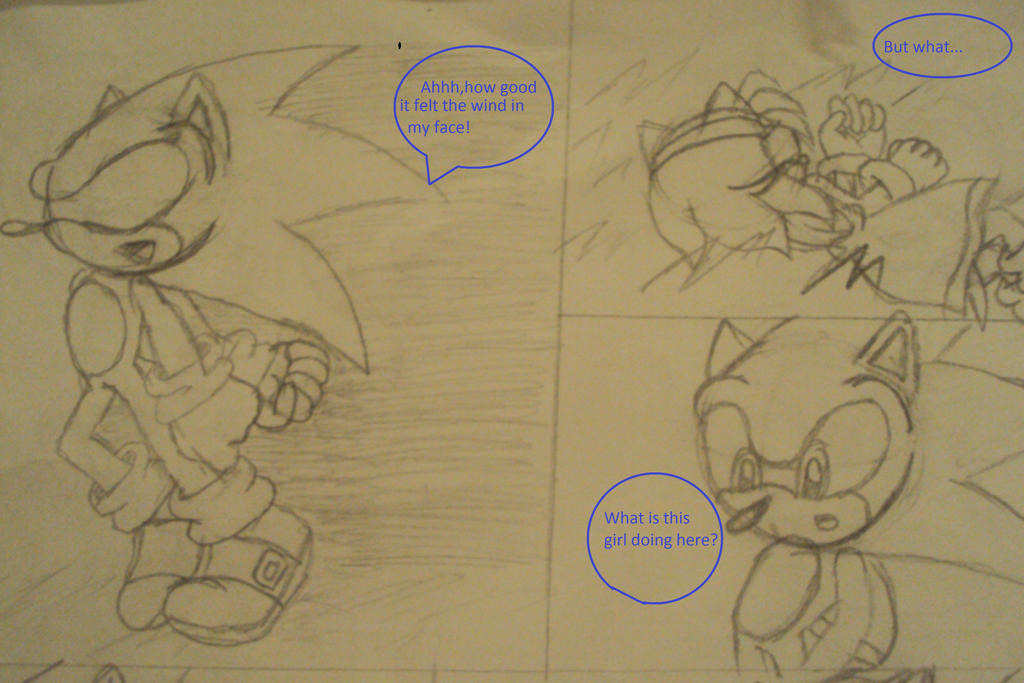 A Second Chance at True Love 7A Second Chance at True Love Part 7 A SonAmy Story Sonic opened his eyes after walking through the door of light and emerged from it at a church. Many people were in their seats looking up at Sonic at the pedestal. Sonic was in a tuxedo and felt really uncomfortable.