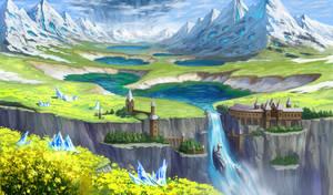 Landscape 003 by sk-magic
