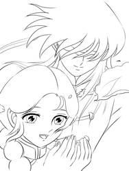 Shiryu_Shunrei by seinlao