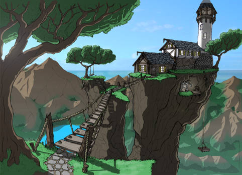 Cliffside Home
