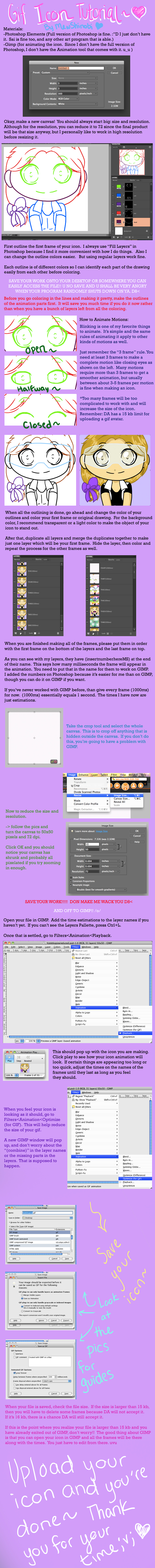 Gif Icon Tutorial by MewShinobi