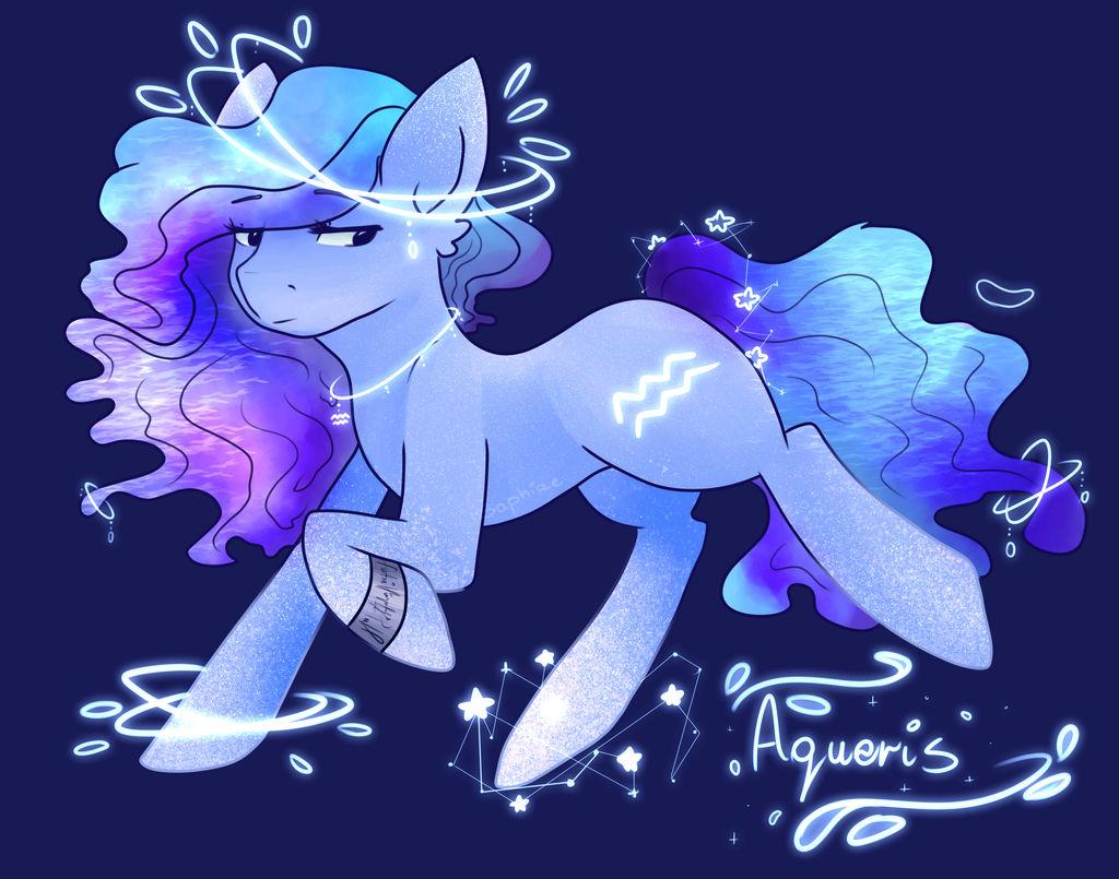 Zodiac Pony Aquarius